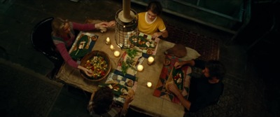 A Quiet Place Dinner Scene