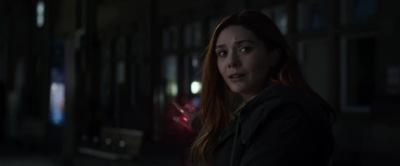 Marvel Studios' Avengers Infinity War Elizabeth Olsen Scarlett Witch