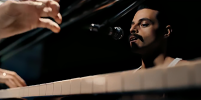 Bohemian Rhapsody Freddie Mercury Rami Malek Piano