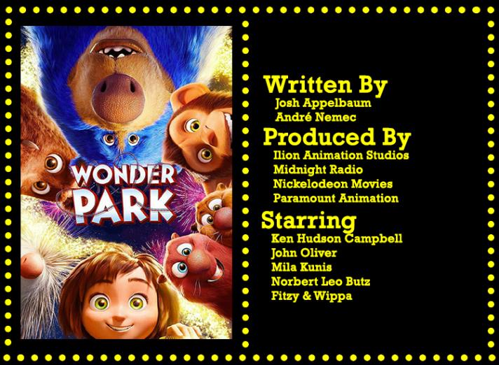 Wonder Park Info