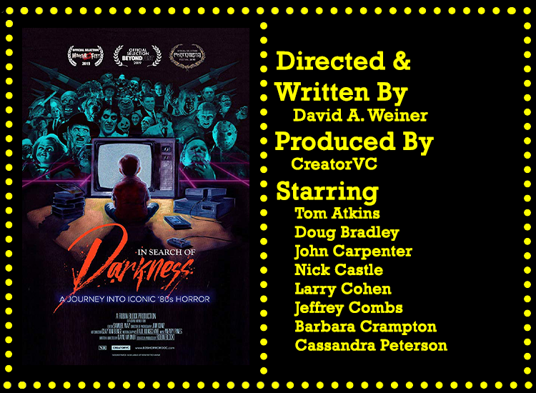 In Search Of Darkness Horror Doc Info