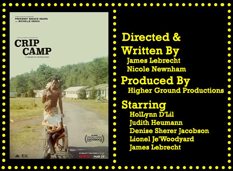 Crip Camp Info